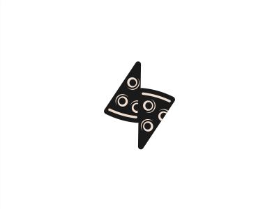 pizza slices + bolt