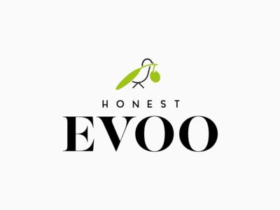 Honest Evoo logo design