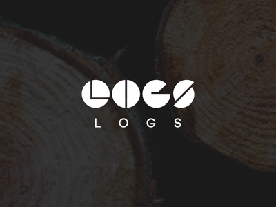 Logs furniture log logo wood wordmark unique romania busteni logs hand crafted company design furniture
