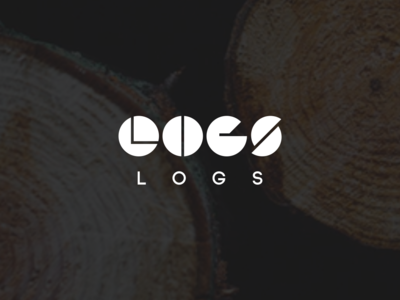 Logs furniture log logo wood wordmark unique romania busteni logs hand crafted company design furniture