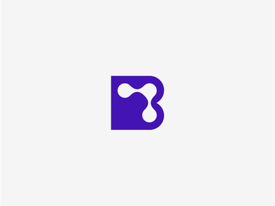 B TV digital technology platform video sharing content concept letter b tv