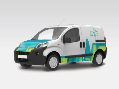 OMS oven oms design identity visual branding logo symbol medical van