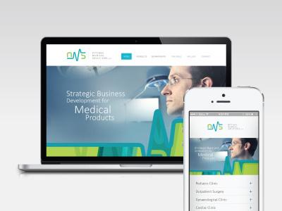 OMS oven oms design identity visual branding logo symbol medical stationery