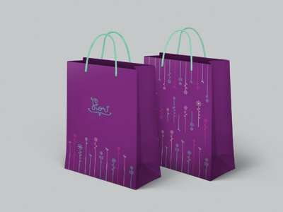 Fiori oven fiori design identity visual branding logo symbol packaging flowers bag footwear