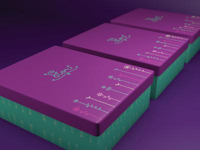Fiori oven fiori design identity visual branding logo symbol packaging flowers footwear box