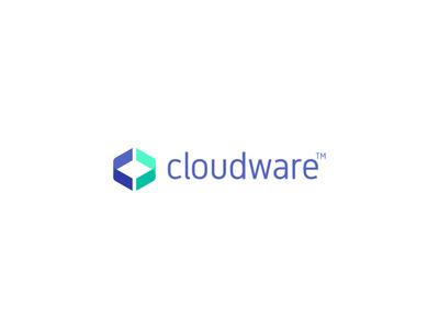 Cloudware google cloud logotype typography caceres diego rueda claudia symbol identity oven design workshop brand branding visual  identity logo