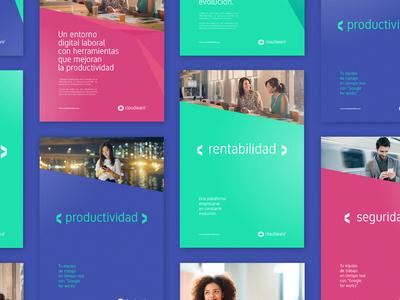 Cloudware - Visual identity