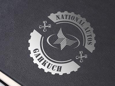 National Autos Gahkuch   Logo vector minimal illustration graphic design branding logo