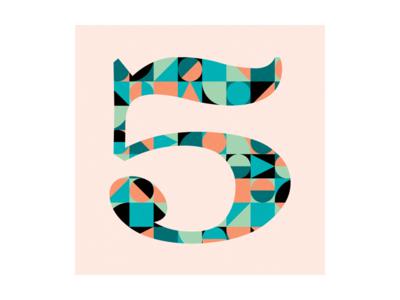 5 type 36 days of type