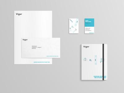 Vigor corporate identity