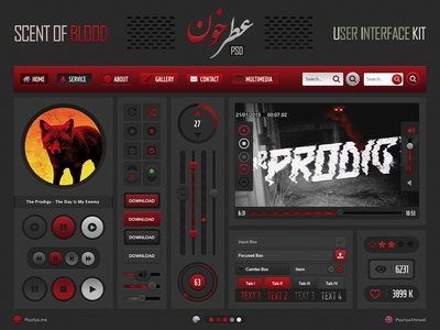 Scent Of Blood UI Kit