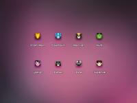 16px Super Heros Icons1