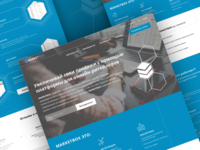 Landing page for MarketBox
