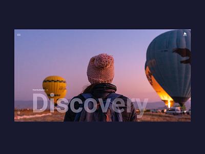 Globe - travel agency web design trip travel iceland discovery concept design website design ui ux