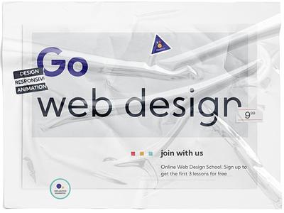 IT School/Landing Page study landing page concept color brand figma web design ui ux design