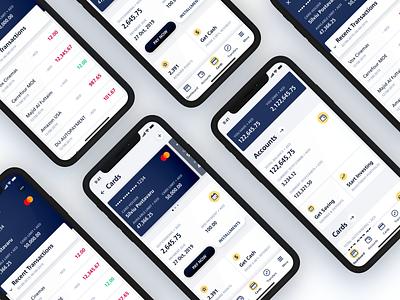 Emirates NBD • Bank App Redesign redesign practice ux app ios