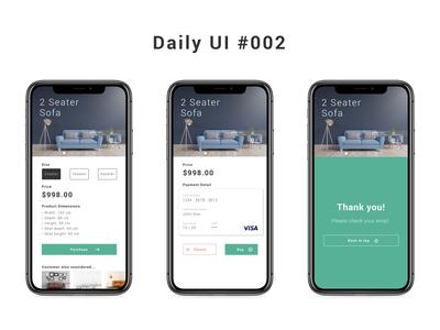 Daily UI #002