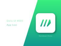 App Icon (Daily UI #005)