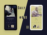 Music Player (Daily UI #009)
