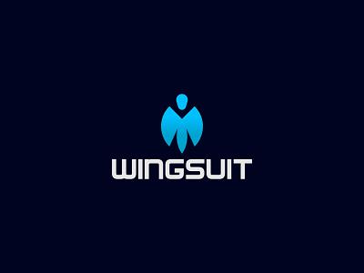 wingsuit logo design logo branding creative logo logo business professional logo minimal logo minimalist logo logo brand logo business logo logo design wingsuit logo