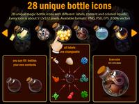 28 Unique Bottle Icons