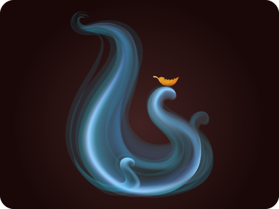Air icon game magic icon element force of nature play vector airway wind airflow assets air