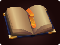 Book icon game