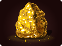 Golden nugget icon game