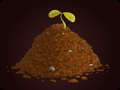 Ground object arcade design illustration element app user quest vector sprite ground game