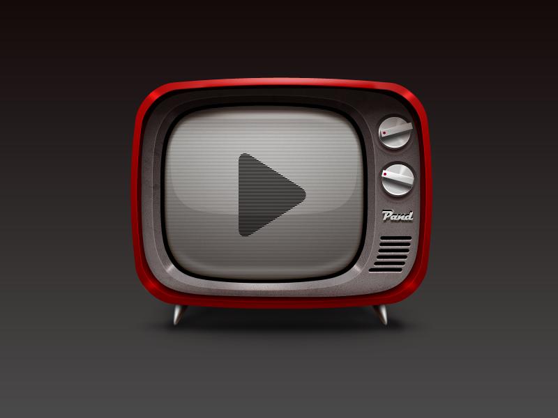 Tv icon icon sanadas tv app