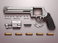 Gun M500 (Dismantling)