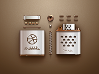 Dribbble Lighter (Dismantling)