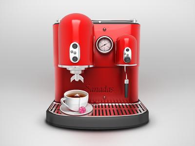 Coffee Machine icon ui sanadas