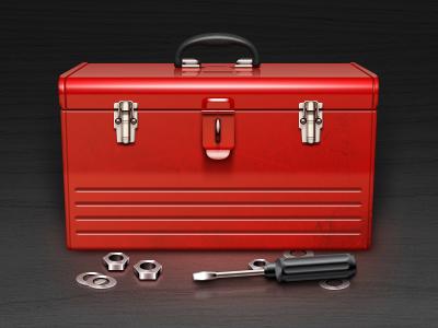 Tool Box (Free PSD) sanadas icon