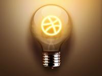 Dribbble Bulb