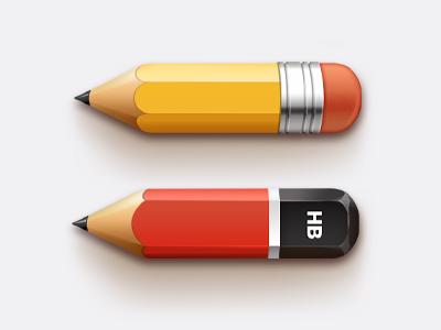 Pencils (PSD) sanadas icon