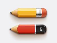 Pencils (PSD)