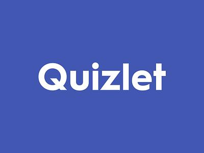 Quizlet Redesign web ios android indigo logotype logo redesign