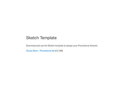 iTunesStore-PromotionalArt.sketch template sketch ios app itunes