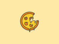 Pizza logo research