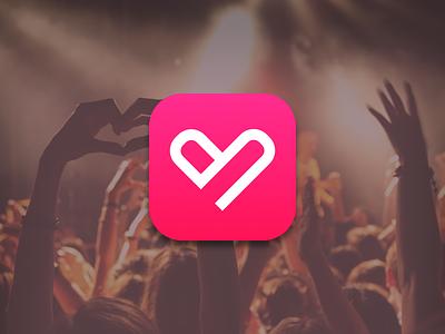 App Icon ios app appicon minimal finger heart icon