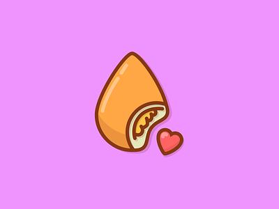 Food Icon illustration design vector digital art adobe illustrator graphic design illustrator color hotdog icon food