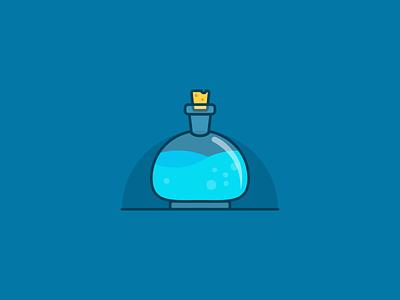 Potion adobe hp potion logo digital art illustrator graphic design design illustration icon vector ve