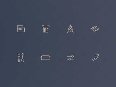 Icons Set interface mobile human-centered design icons