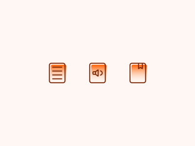 Line Icons 03 - BookStore App