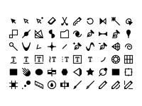 60 Alternative Illustrator Icons