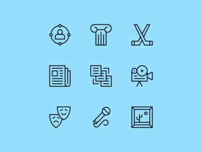Voskresensk Icon Set