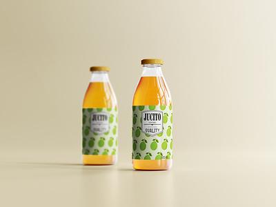 Wood apple juice productdesign graphic design ui vector design typography minimal logo icon illustration branding