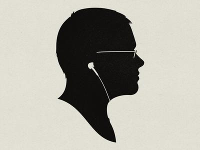Silhouette Self Portrait louie mantia silhouette portrait cameo