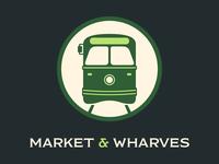 Ⓕ Market & Wharves